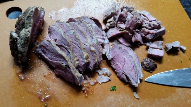 cut lamb